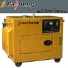 4-stroke Air-cooled electric start 5kw portable 3 phase generator for home use silent