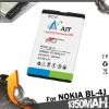 BL-4J Mobile Phone Batteries For Nokia C6 1350MAH