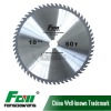TCT SAW BLADE FOR SOLID WOOD