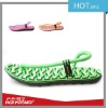Magic colorful girl beach slippers with massage function