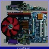 G41 motherboard+3.6G CPU+Fan