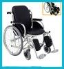 Deluxe Aluminum-alloy le Foldable Wheelchair