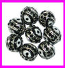 KA89 Hot Selling lucky evil eye round beads