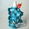 animal shape foldable water bottle cartoon
