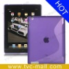 S Shape TPU Case for iPad 3