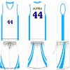 home blank basketball jersey/basketball wear
