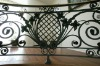 Ornamental Wrought Iron Grill for Balcony Railing