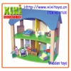 37Pcs Kids Educational Toys Funny Wooden Toy House