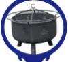 animal logo BBQ charcoal oven