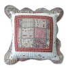 100% cotton patchwork cushion cover
