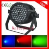 2012 Hot!54pcs 1W/3W RGB/RGBW IP65 outdoor water proof light fixtures
