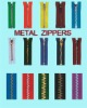 Metal Zippers(3#, 4#, 5#, 7#, 8#, 10# )