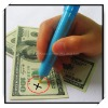 Money detector pen with UV light 2-IN-1 (FY-1379)