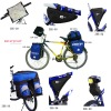 waterproof bicycle bag (map holder)