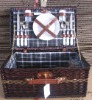 eco-friendly handmade willow picnic basket hampers