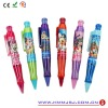 Colorful plastic ballpoint pen