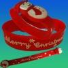 sicicon bracelet 4GB usb XMAS promotional gift