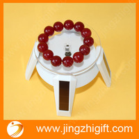 solar jewelry display case turntable stand for promotion