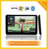 4GB Slim 5 inch car GPS navigator with Bluetooth FM AV IN