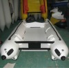 CE 335 aluminum stern catamaran inflatable boat small speed boats