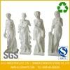 Four Season Western Style White Marble Sculpture
