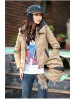 women cotton woven jacket