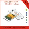 N9880 2012 new arrivals mobile phone android 4.0 mtk6577 1.ghz gps wifi dual sim 3g