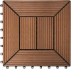 eco- friendly wood plastic wpc diy decking(flooring) or plastic lumber