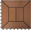 eco- friendly wood plastic wpc diy decking(flooring) or plastic lumber
