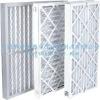 Cardboard Frame Pleated Filter / Paperboard Frame Pleated Filter / Disposable Pleated Filter