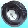 pulley with bushing