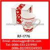Ceramic Coffee Mug with Belly Shape for Valentine's Gift Mug