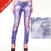 (#TG353W) 2012 New Style latest jeans pants tops girls