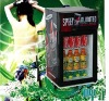 Counter top glass door soft drink mini fridge 20 litre in supermarket or store