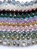 Wholesale!! Latest!! Fashion--New--Round Ball Faceted Assortment Mixed Crystal Jewelry Beads 10mm