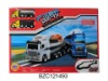 Kid play plastic racing truck car BZC121493