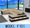 2012 living room leather sofa F101
