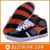 2012 newest neutral high cut easy street skateboard shoes