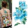 star tattoo sticker,beautiful flower tattoo sticker,flower tattoo sticker
