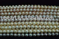 9-10 mm AAA freshwater pearl strands for necklace or other fashion pearl jewelry