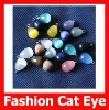 Fashion Cat Eye Shine Loose Tear Drop Pendant for Earring