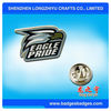 Eagle Pride Badges With Nickel Plating