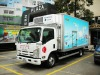 9.0T 19CBM Isuzu NQR Ice Cream Delivery Truck