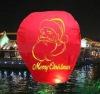 X-MAS,christmas sky lantern