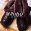 2010 new style leather fur boots