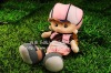 stuffed plush toy real cartoon doll