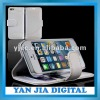Wholesale Durable Credit Card Slot Wallet Leather Case For iPhone 5