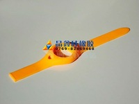 colorful Silicone rubber watchband