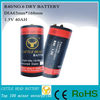 NO.6/IEC R40 dry batteries for generator room