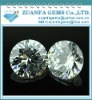6mm shining whtie round synthetic aaaa cz stones
